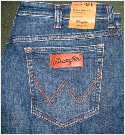 Настоящие джинсы Wrangler