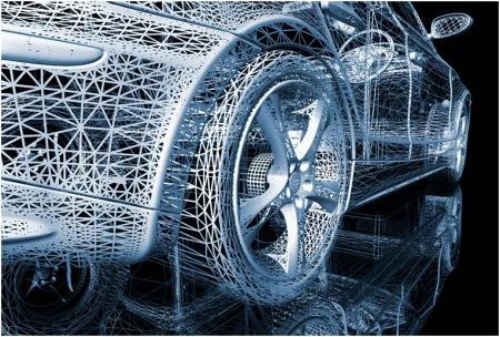 """Компьютерная графика """"3D модель автомобиля"""""""
