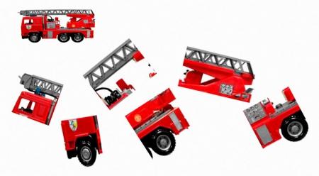 Собери пожарную машину