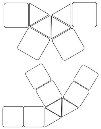 Шаблоны домиков
