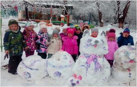 Спортивный праздник на открытом воздухе в детском саду