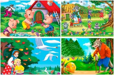 Картинки с героями сказок