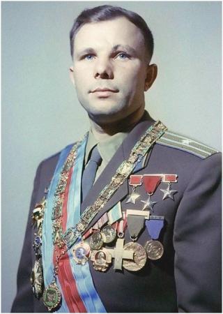 Юрий Гагарин (1934-1968) космонавт