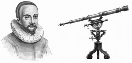 Иоанн Липперсгей (1570-1619) - изобретатель телескопа