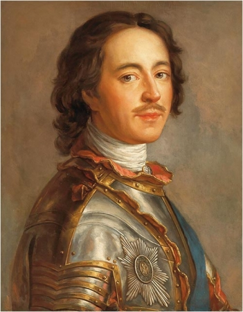 Петр I (1672-1725) - первый Император Всероссийский