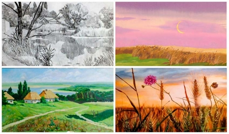 Иллюстрации, выполненные членами студии