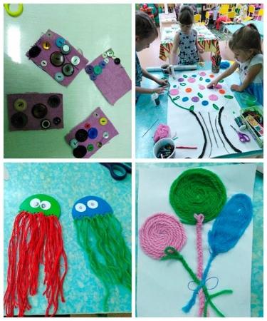 Работы детей, выполненные при реализации проекта