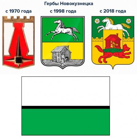 Герб и флаг Новокузнецка
