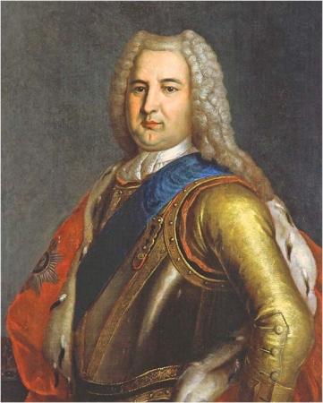 Эрнст Иоганн Бирон (1690-1772) - фаворит императрицы Анны Иоанновны