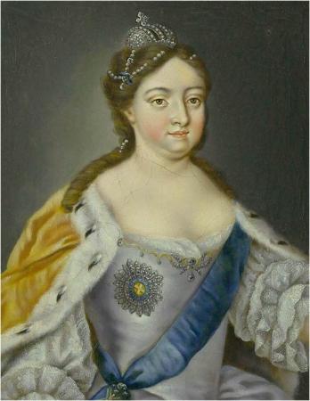 Анна Иоанновна (1693-1740) императрица Всероссийская из династии Романовых