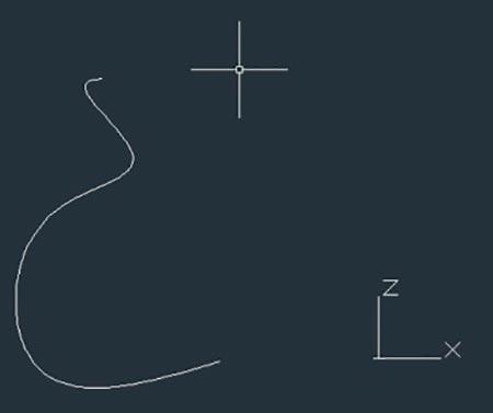 Создадим кривую с помощью инструмента
