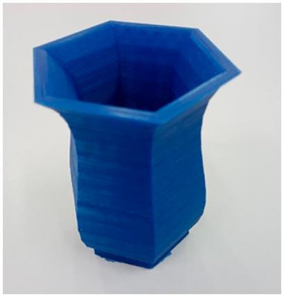 Ваза, напечатанная на 3D принтере