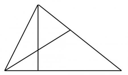 Сколько треугольников изображено?