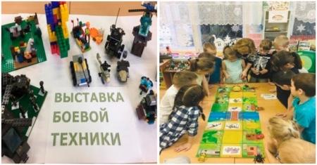 Реализация проекта в детском саду на тему ВОВ