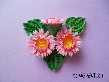 Технология изготовления цветка «Астра»