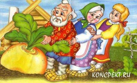 Урок речи и альтернативной коммуникации: русская народная сказка «Колобок»