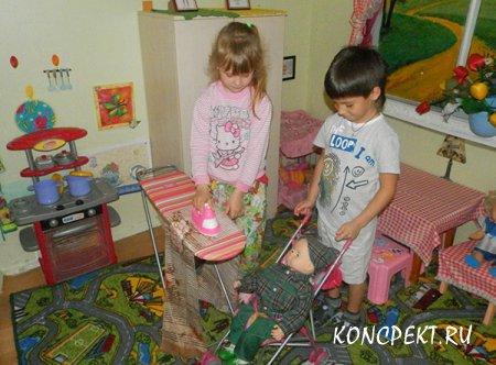 Социализация дошкольников через сюжетно-ролевую игру